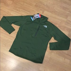 NWT The North Face Incipient 1/4 Zip Pullover, M